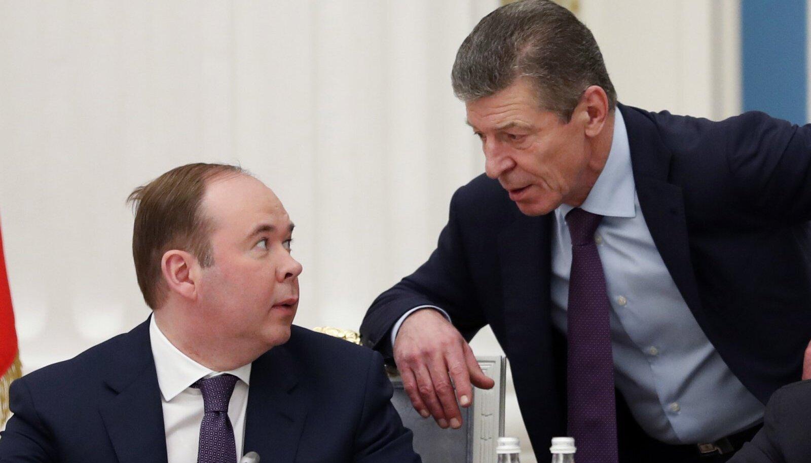 Anton Vaino ja Dmitri Kozak