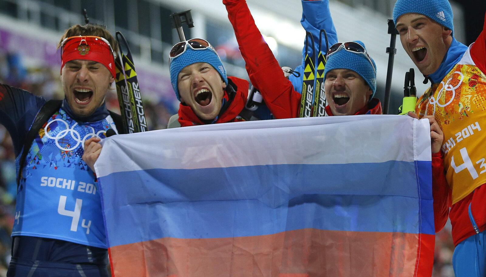 Jevgeni Ustjugov (paremalt teine)