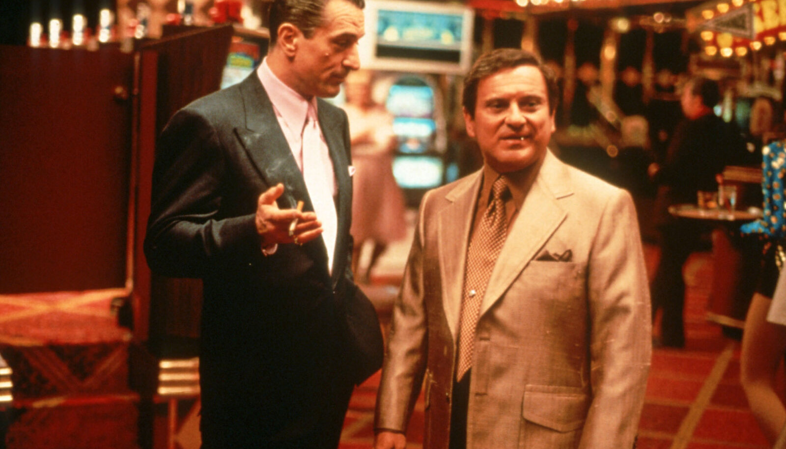 "Robert De Niro ja Joe Pesci filmis ""Kasiino"" (""Casino"", 1995)"