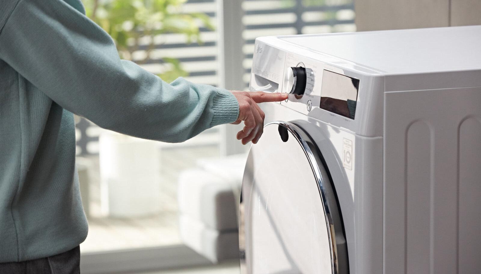 Pesumasinatel on tihti isegi enam kui 10 erinevat pesurežiimi