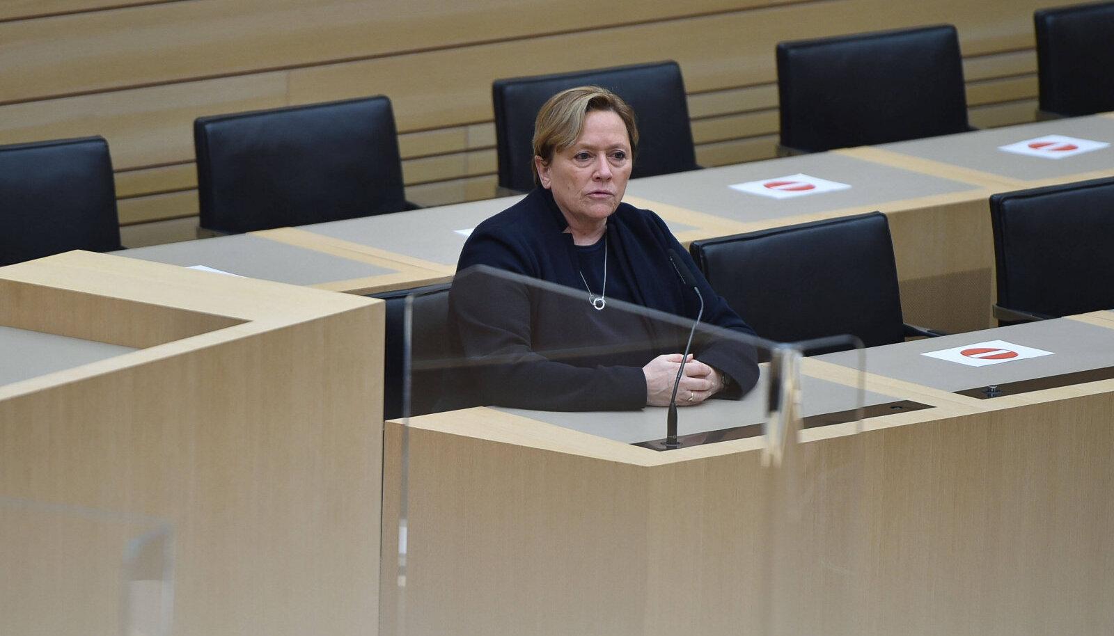 CDU esikandidaat Baden-Württembergis Susanne Eisenmann