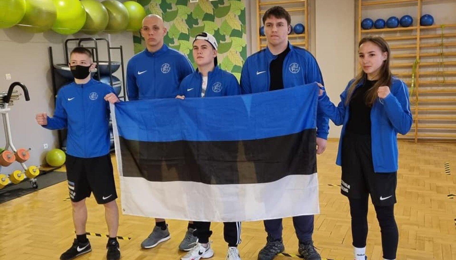 Vasakult Allan Morozov, Anton Vinogradov, Matvei Starikov, Mario Jerjazov ning Diana Gorisnaja.