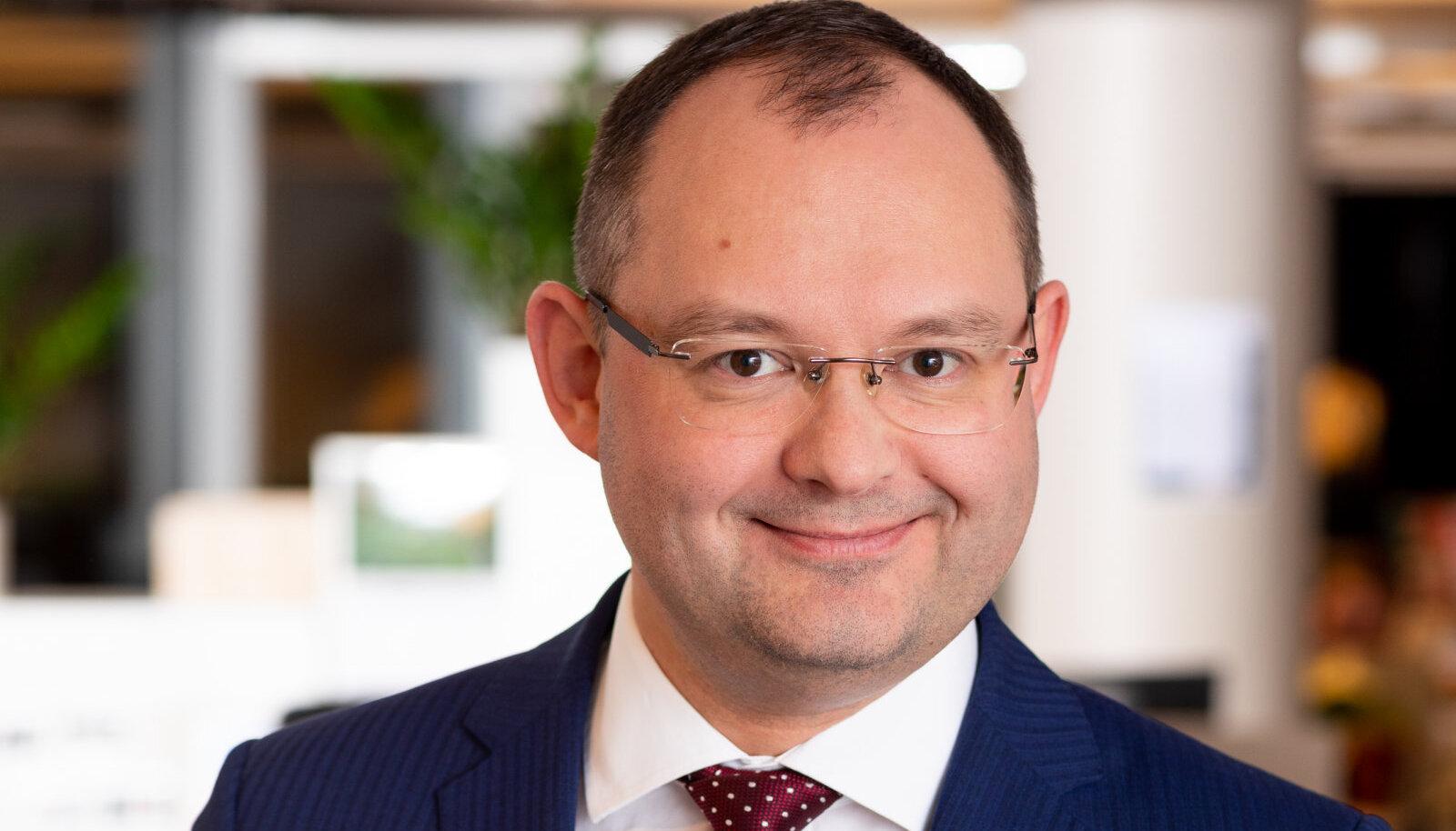 PwC maksukonsultatsioonide osakonna juht Hannes Lentsius