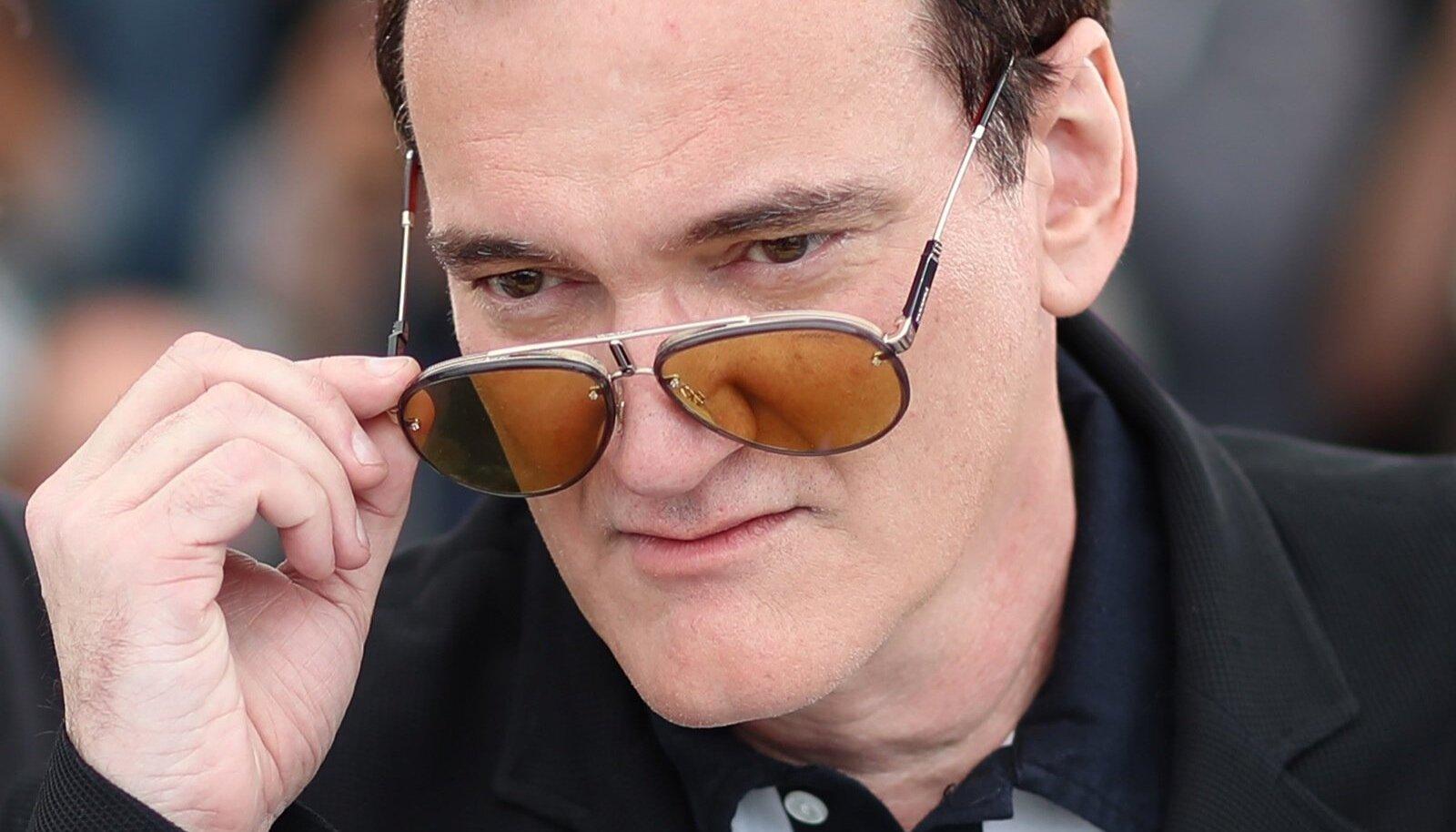 Quentin Tarantino Cannes'i filmifestivalil.