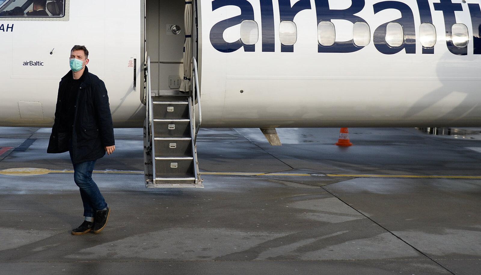 Läti lennufirma Airbalticu lennuk