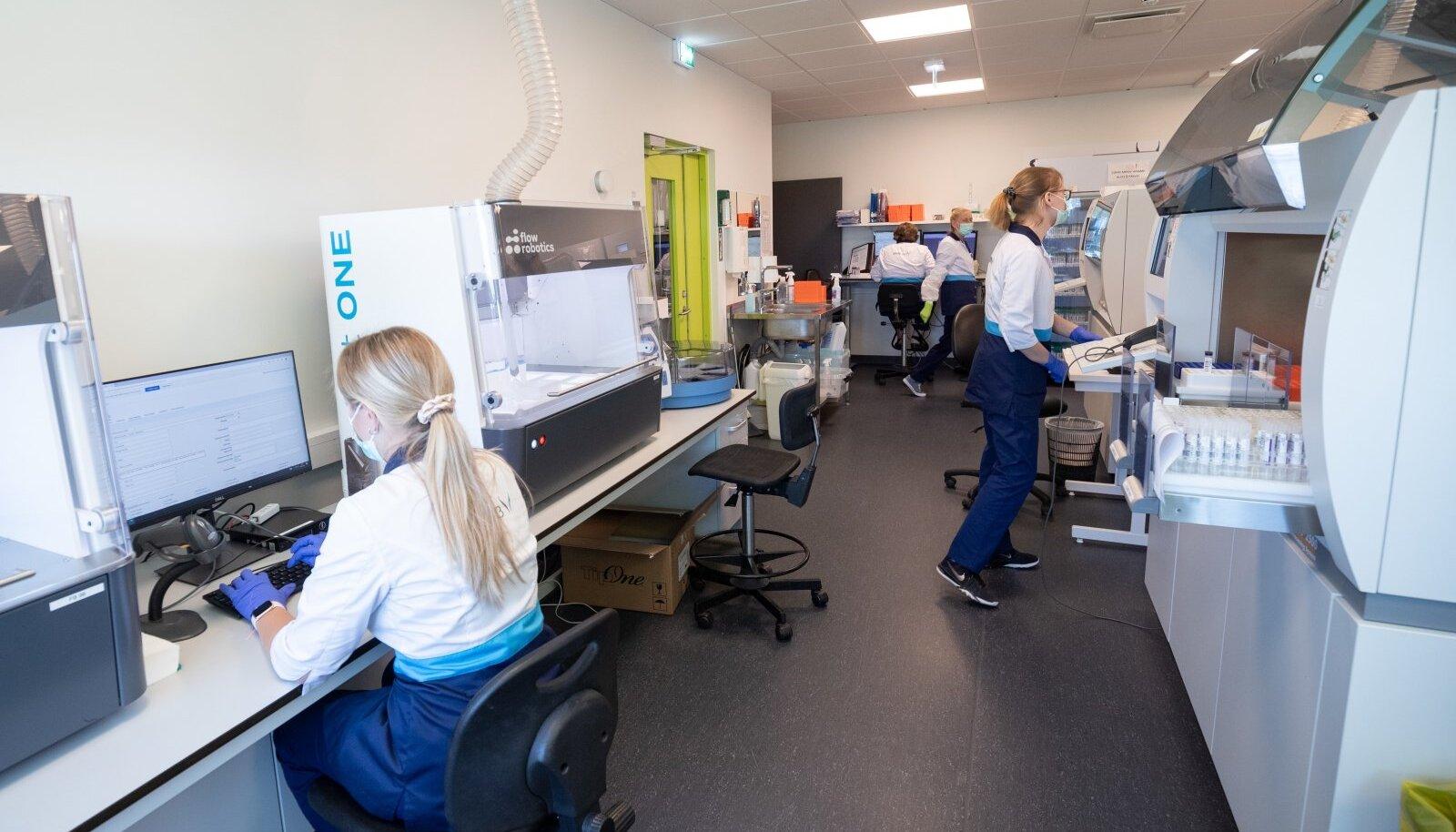 Koroonaproovide labor