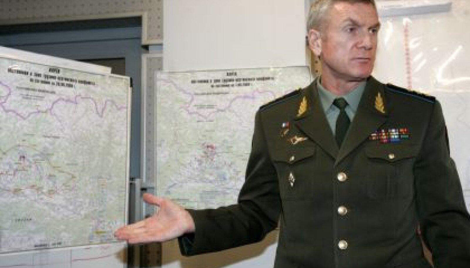 Venemaa kindralstaabi ülema asetäitja kindralpolkovnik Anatoli Nogovitsõn