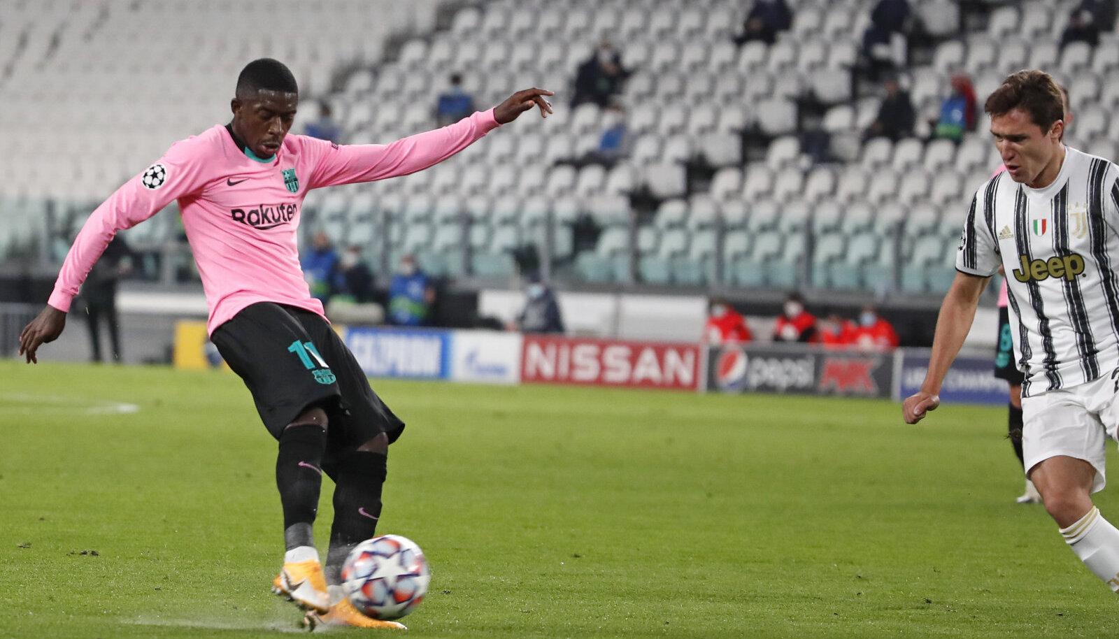 Ousmane Dembele (Barcelona) lööb Juventusele värava