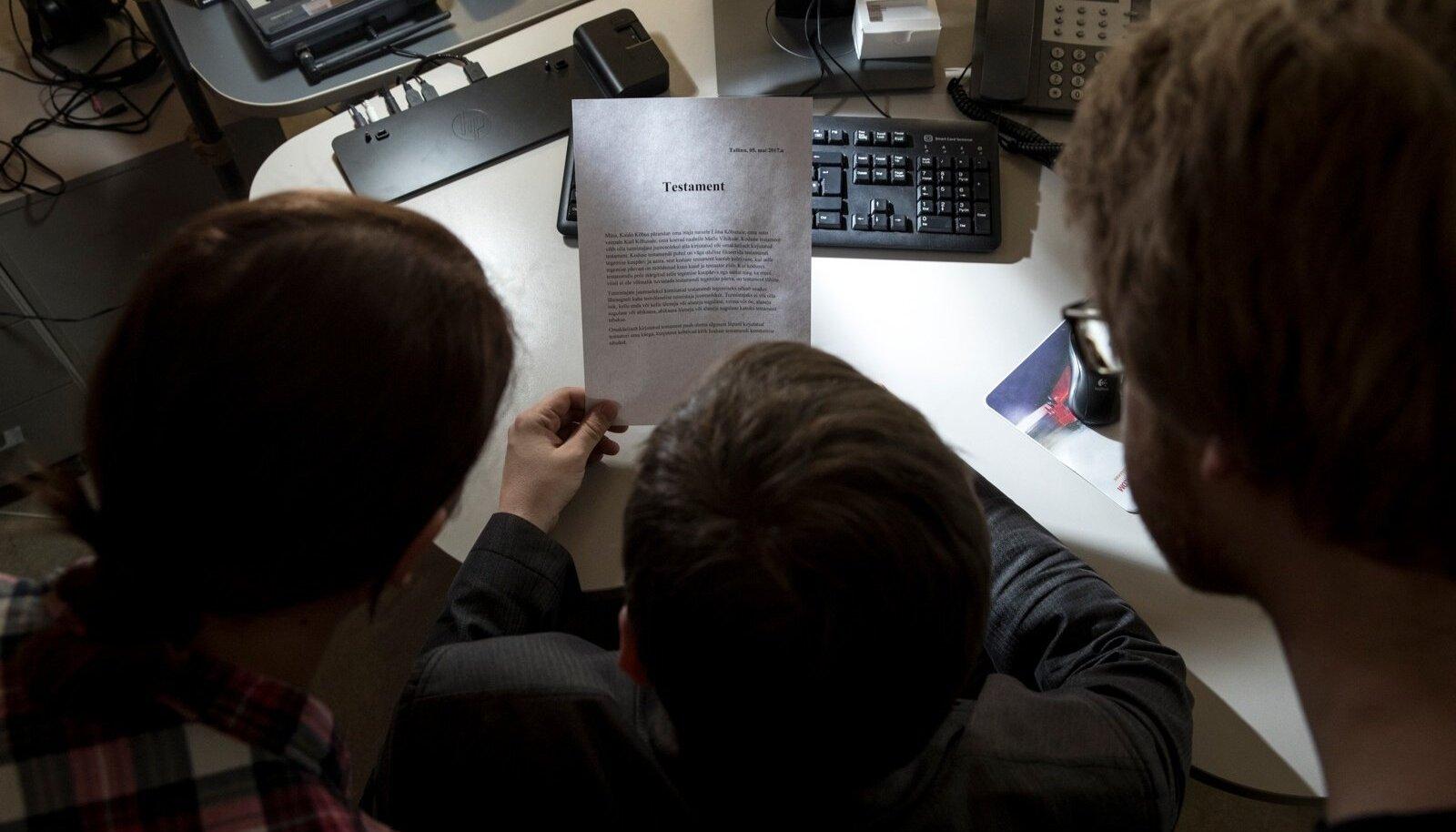 Andmejälgija kaudu sai avalikuks, et inimene oli notari juures käinud – info, mis peaks muidu olema salajane.