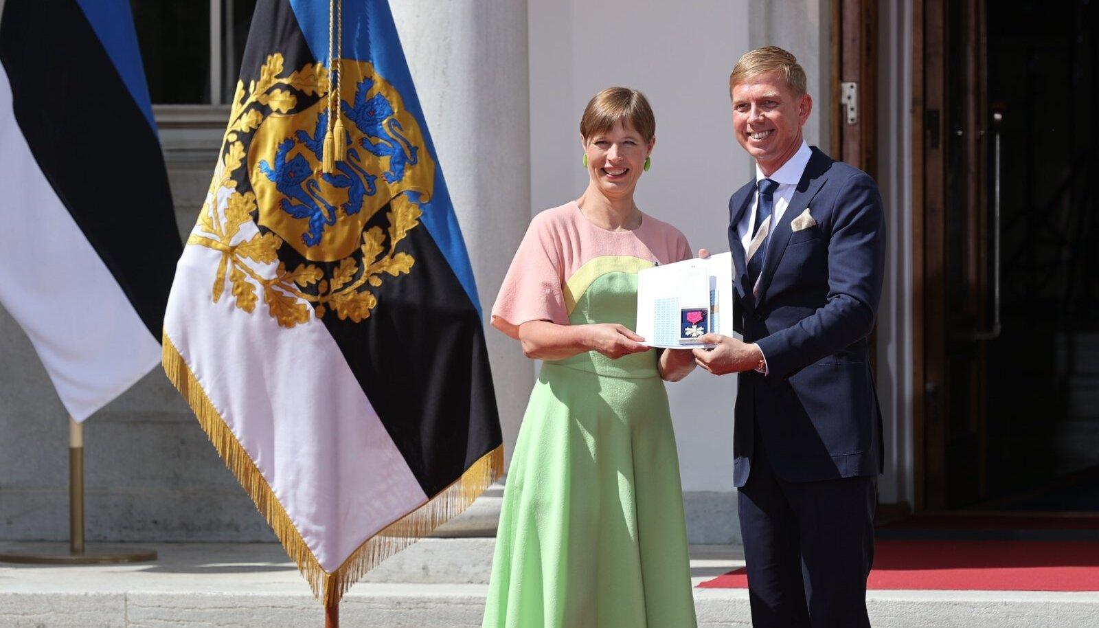 Kersti Kaljulaid ja Tarmo Hõbe