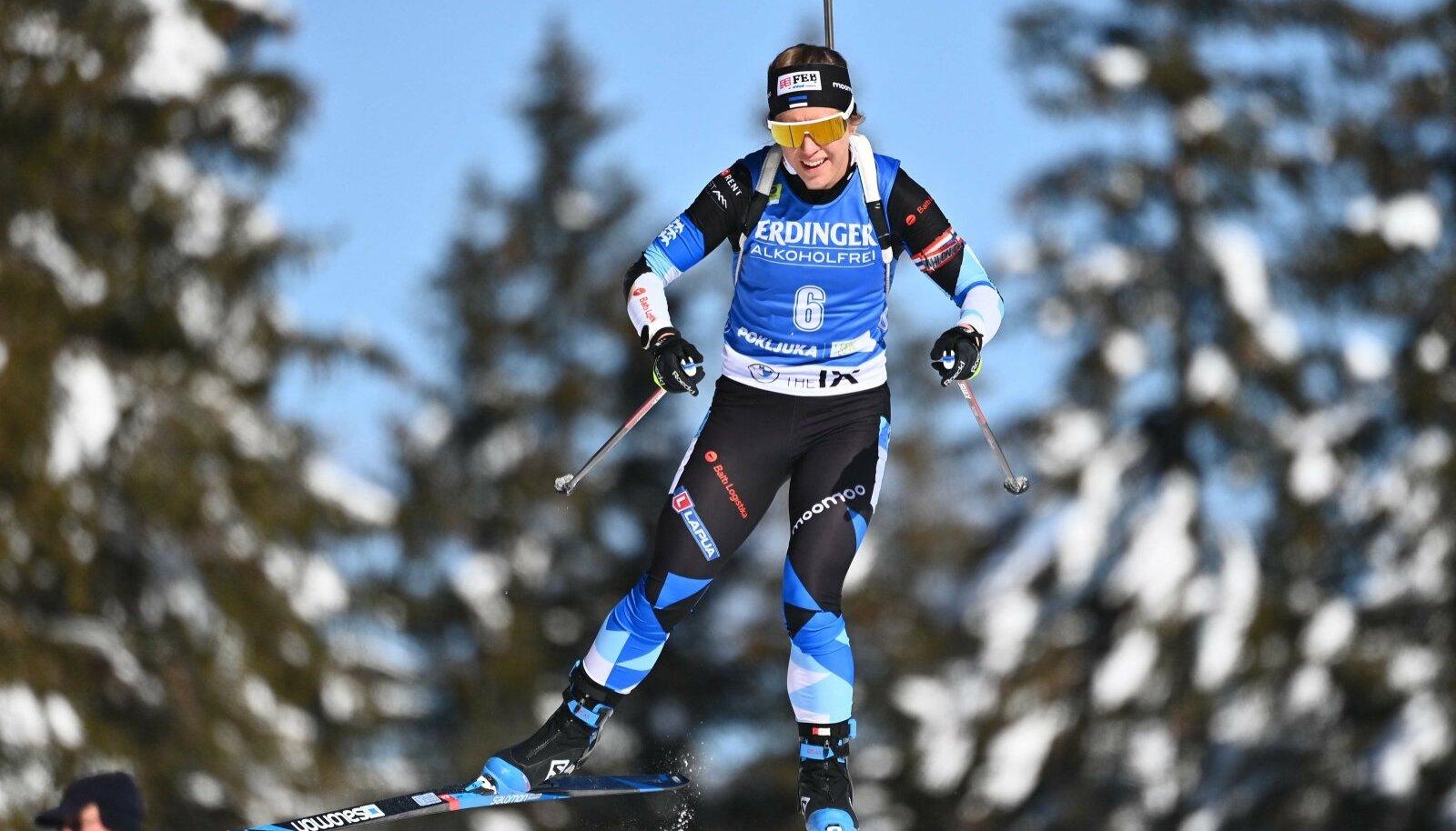Johanna Talihärm sõitis MM-il stabiilselt 30. koha piirimail. Rahule ta sellega ei jäänud.