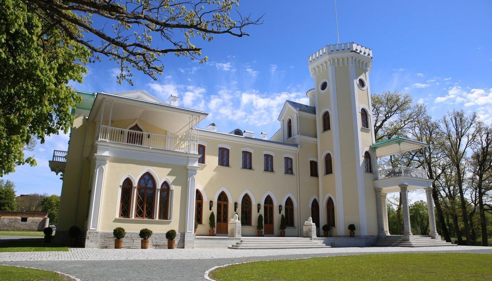 Keila-Joa mõis, loss