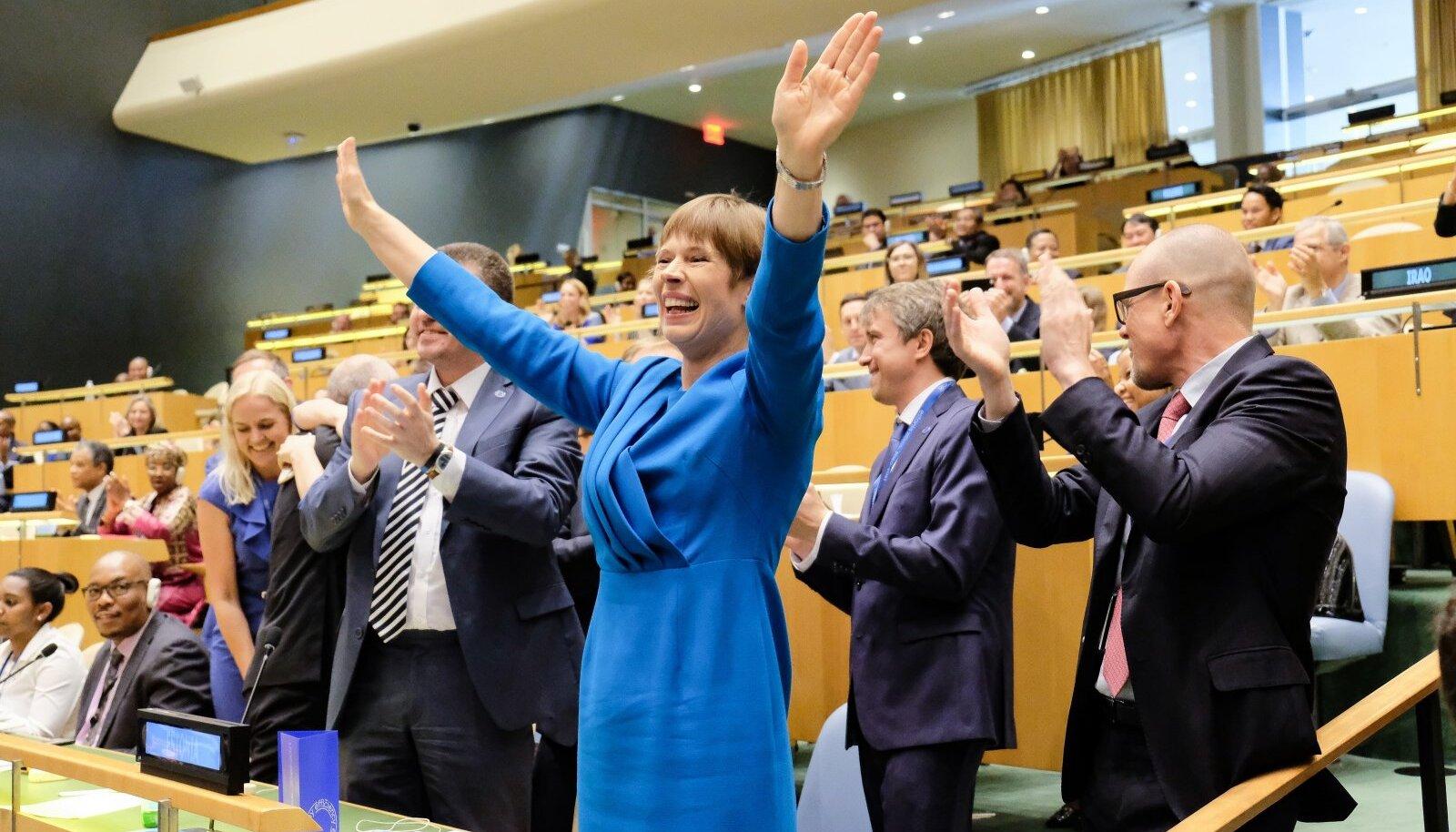 7. juunil 2019 valiti Eesti 2020.–2021. aastaks ÜRO julgeolekunõukogu liikmeks.