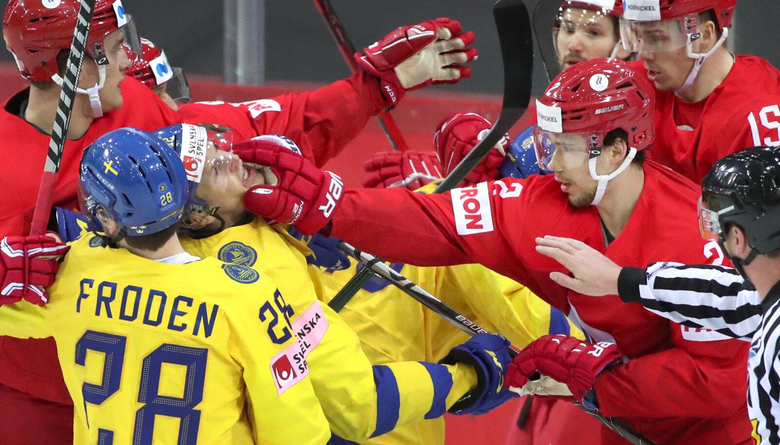 Rootsi ja Venemaa mäng