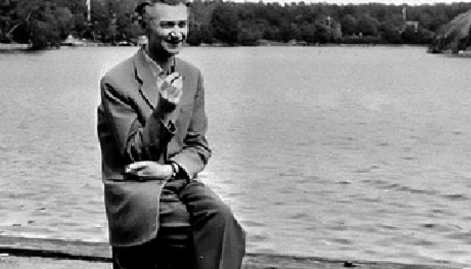 Karl Ristikivi Rootsis 1950. aastail