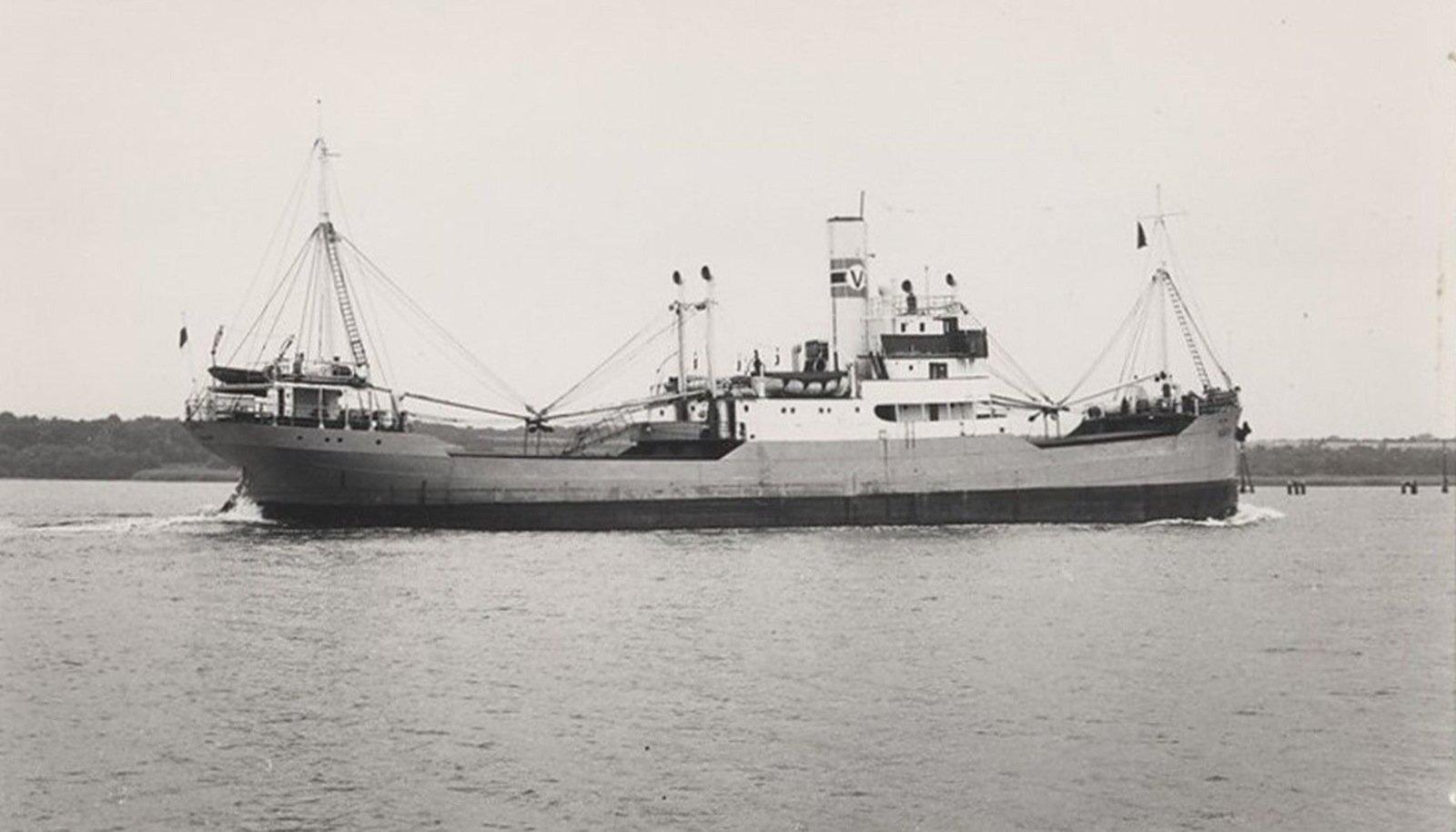 SELLINE OLI KA ENERGI: Põhjalastud Energi sõsarlaev Voosi, mida kohus kasutas hukkunud laevast ülevaate saamiseks.