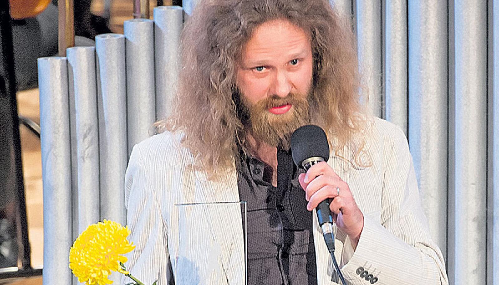 Kitarrist Oleg Pissarenko sai aastapreemia Tartu džässielu edendamise eest.