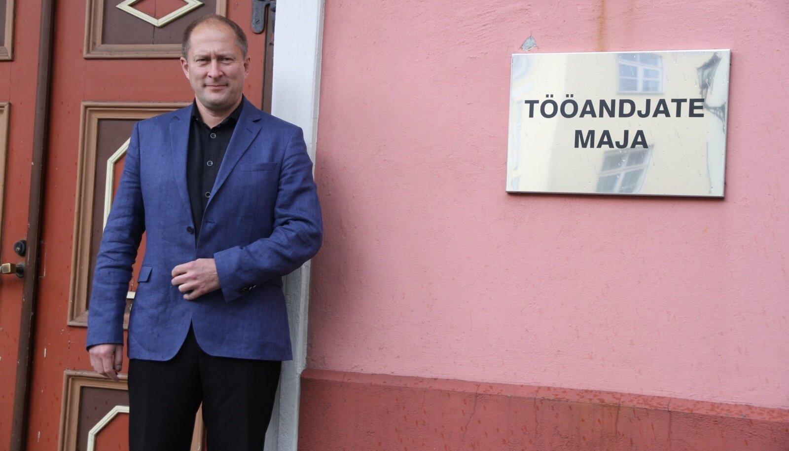 Toomas Tamsar, Tööandjate keskliidu juht