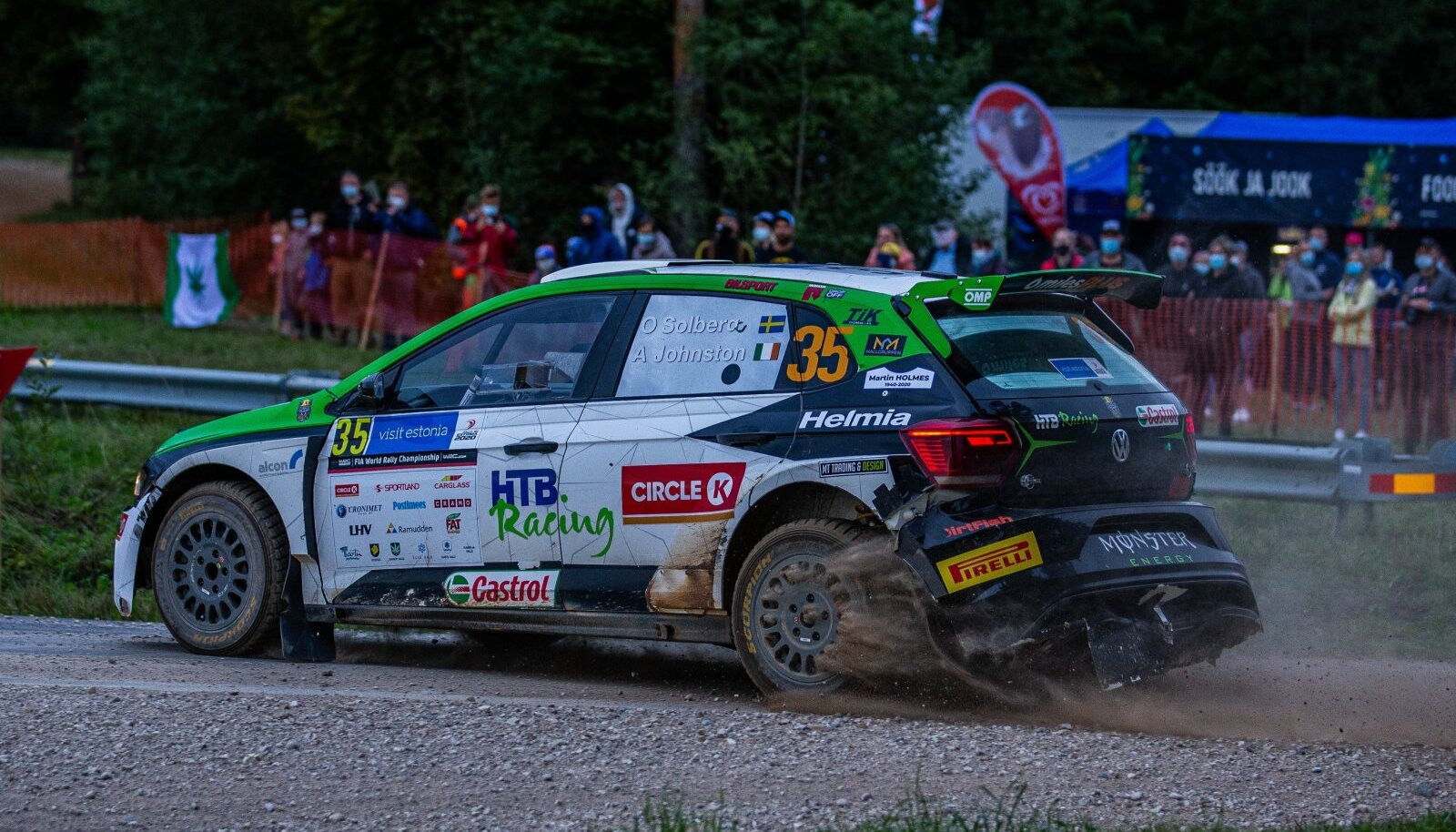 Oliver Solberg tänavu Rally Estonial.