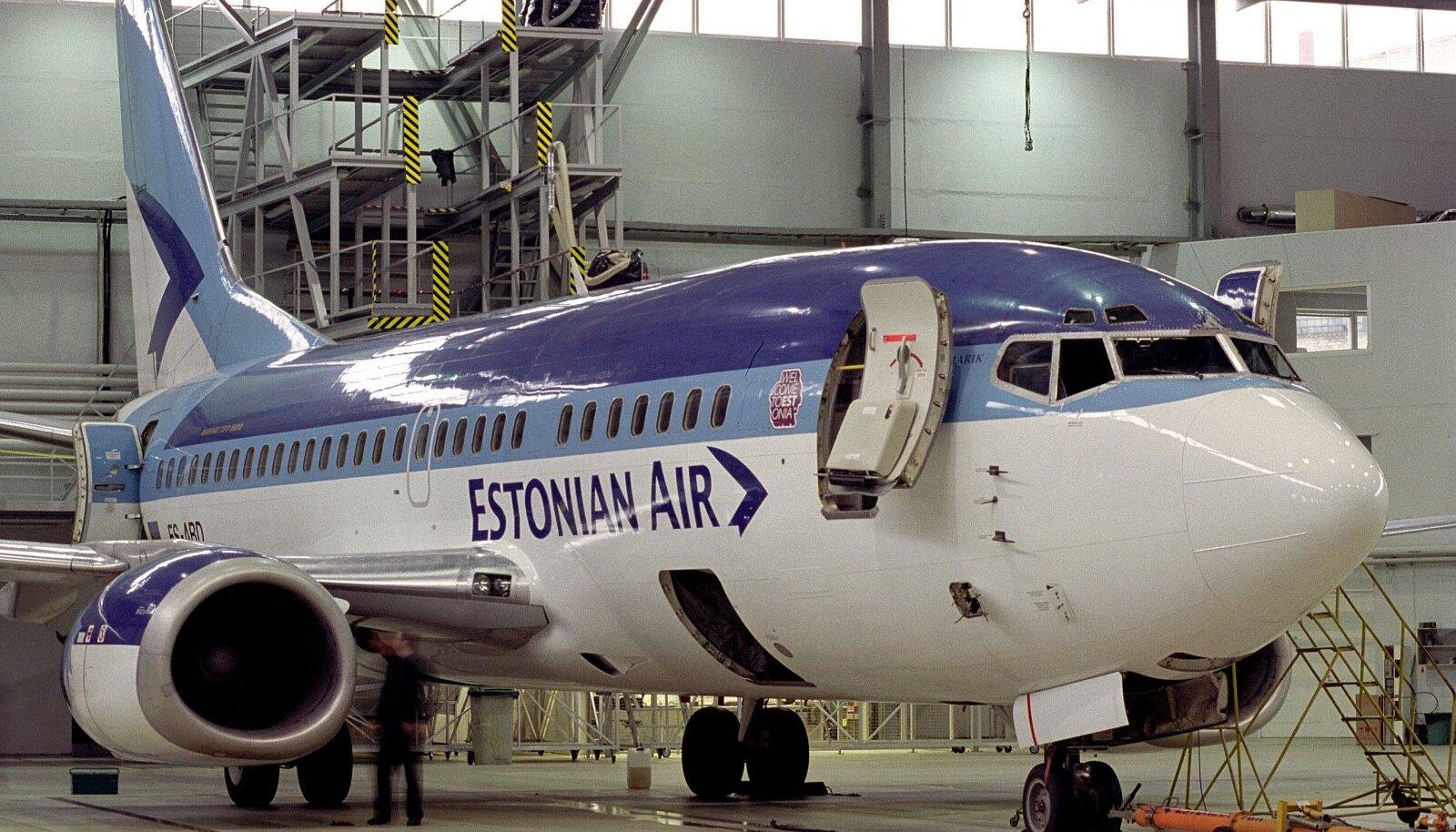 Estonian Air.