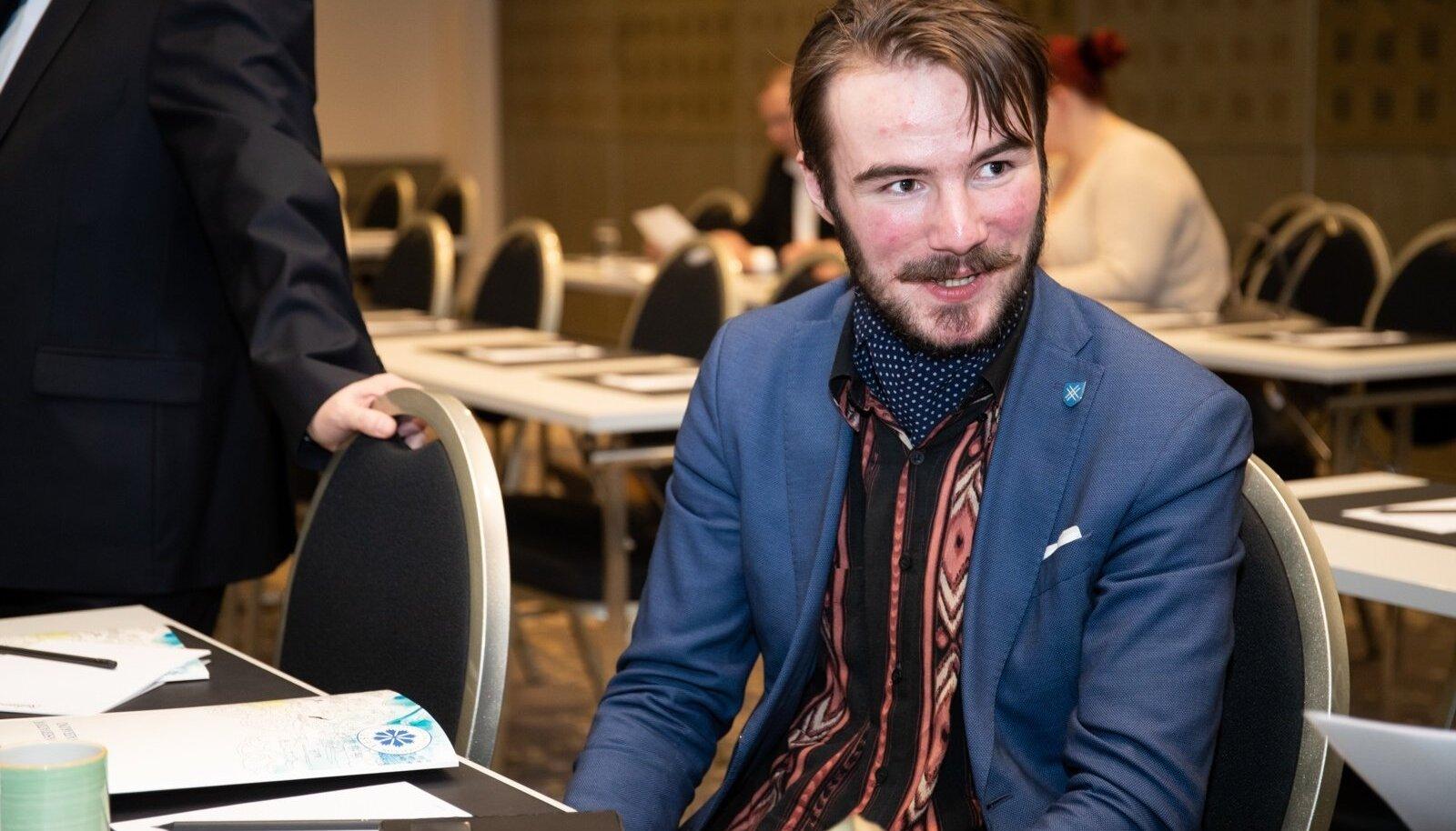 Ruuben Kaalep sai sõnavabaduse toetusrühma esimeheks.