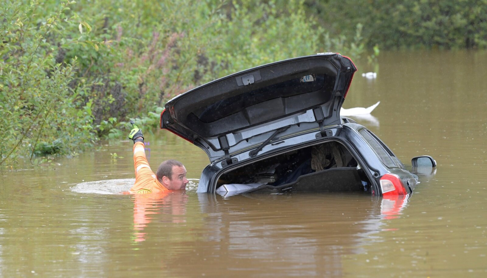 Üleujutus Rootsis