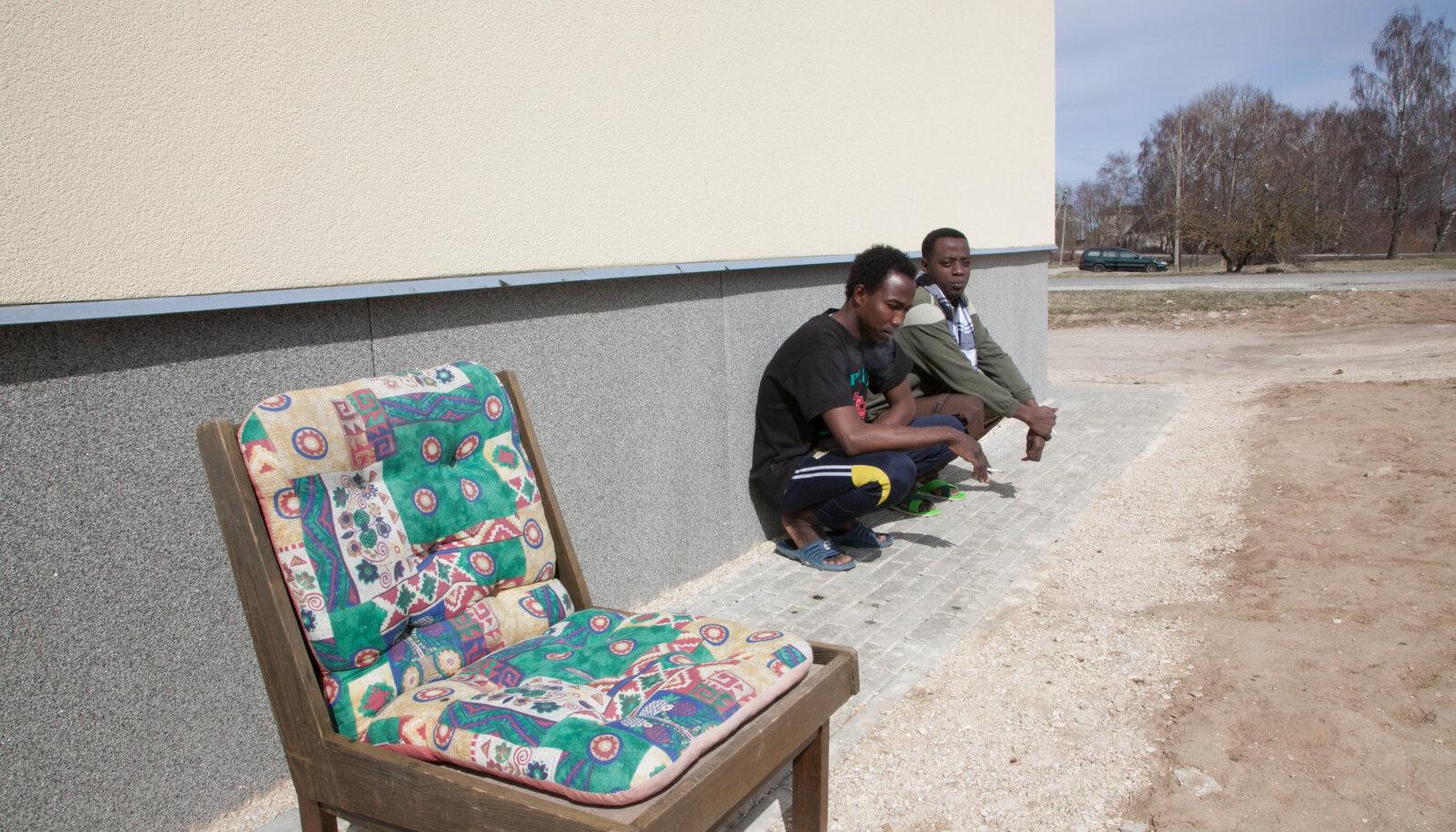 Väo pagulaskeskuse pagulased