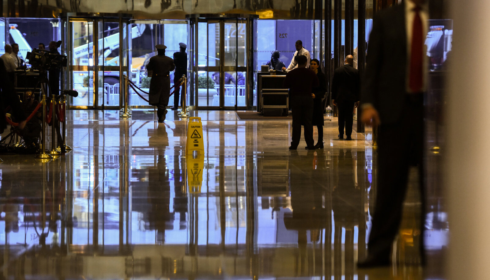Trump Toweri vestibüül