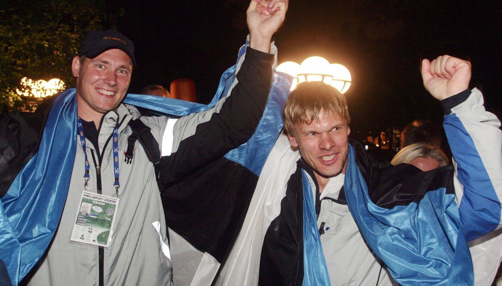 Gerd Kanter ja Andrus Värnik teenisid oma kullad auga välja, uus süsteem võtnuks neilt aga medalid.