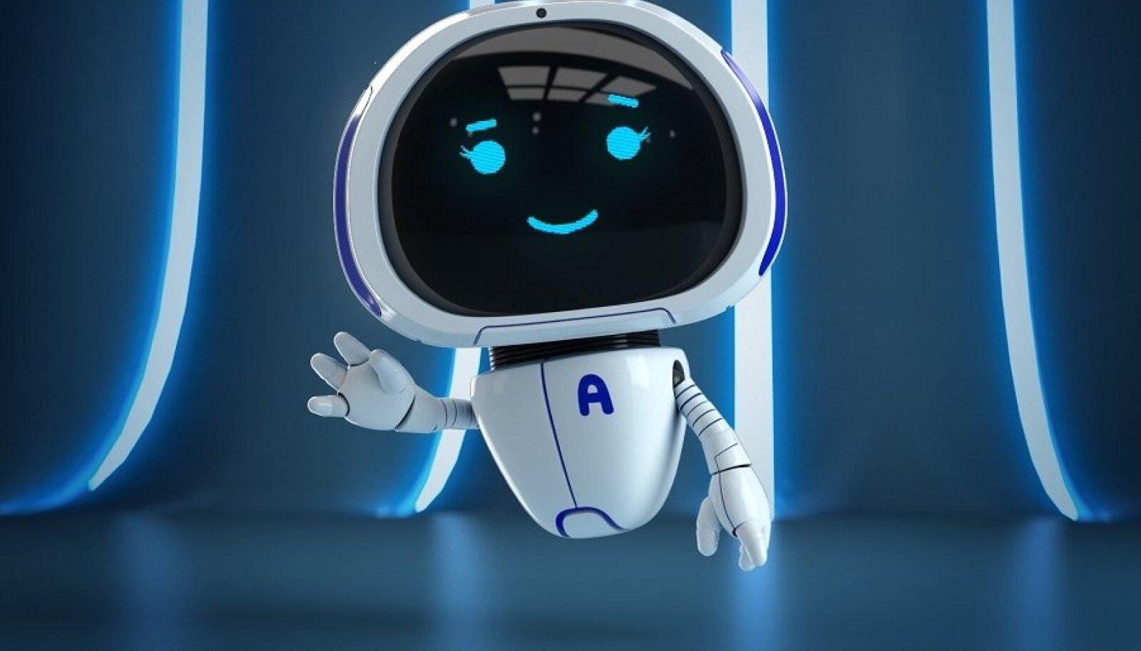 Teenindusrobot Annika.