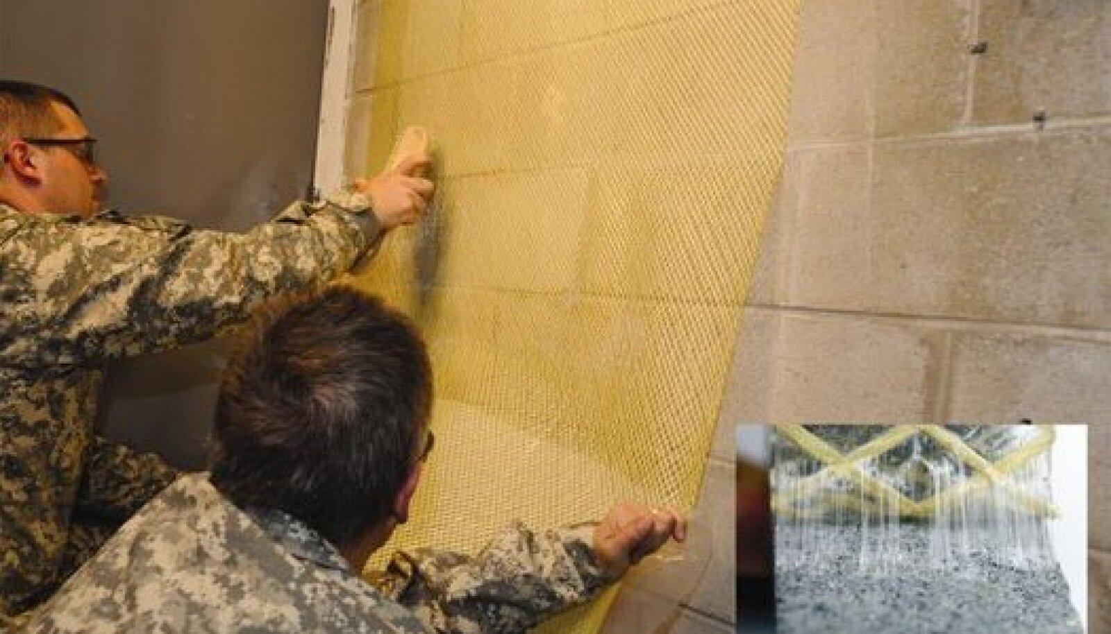 Kiud teevad seina tugevaks. Foto: Berry Plastics