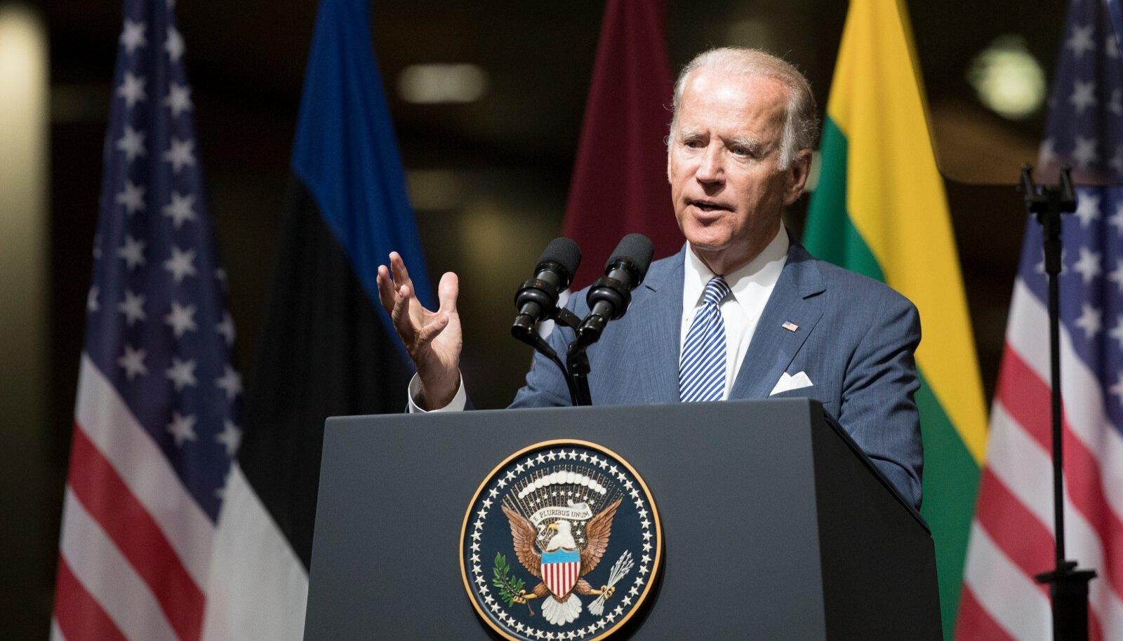USA president Joe Biden.