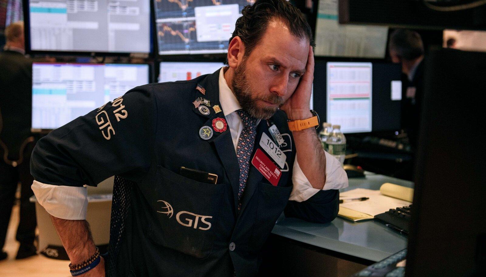 USA aktsiaturgudel võttis maad masendus