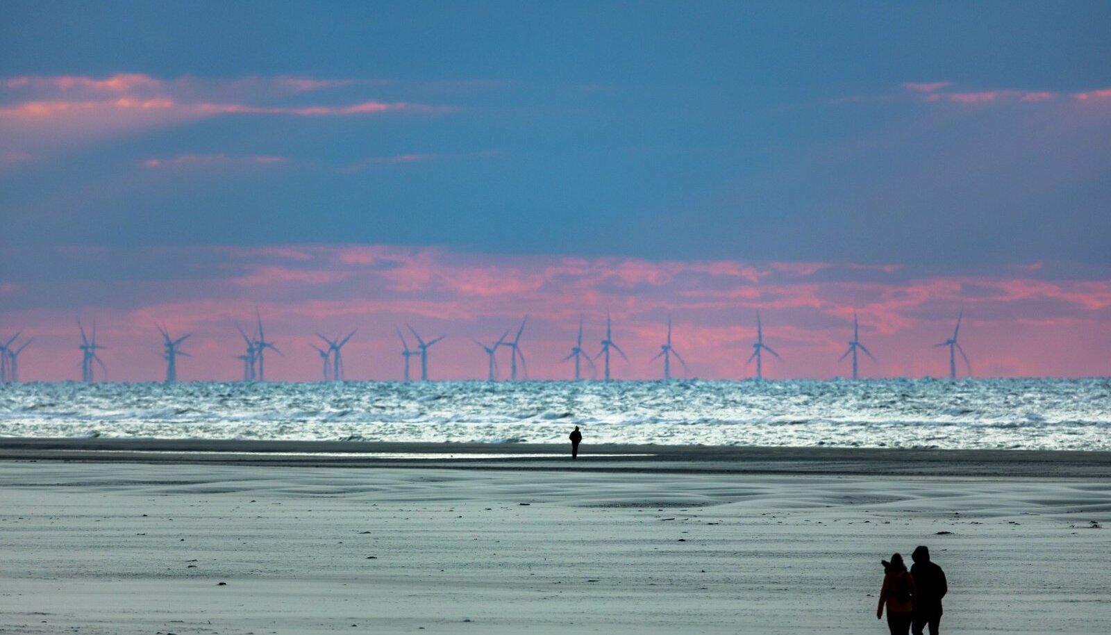 Meretuulepark Saksamaa rannikul