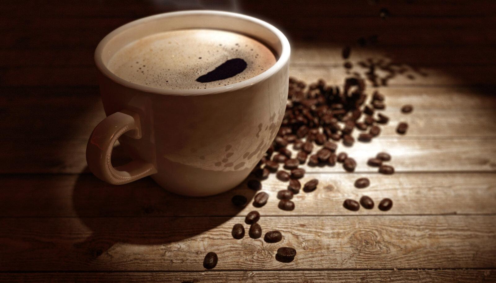 Maitsev värske kohv...