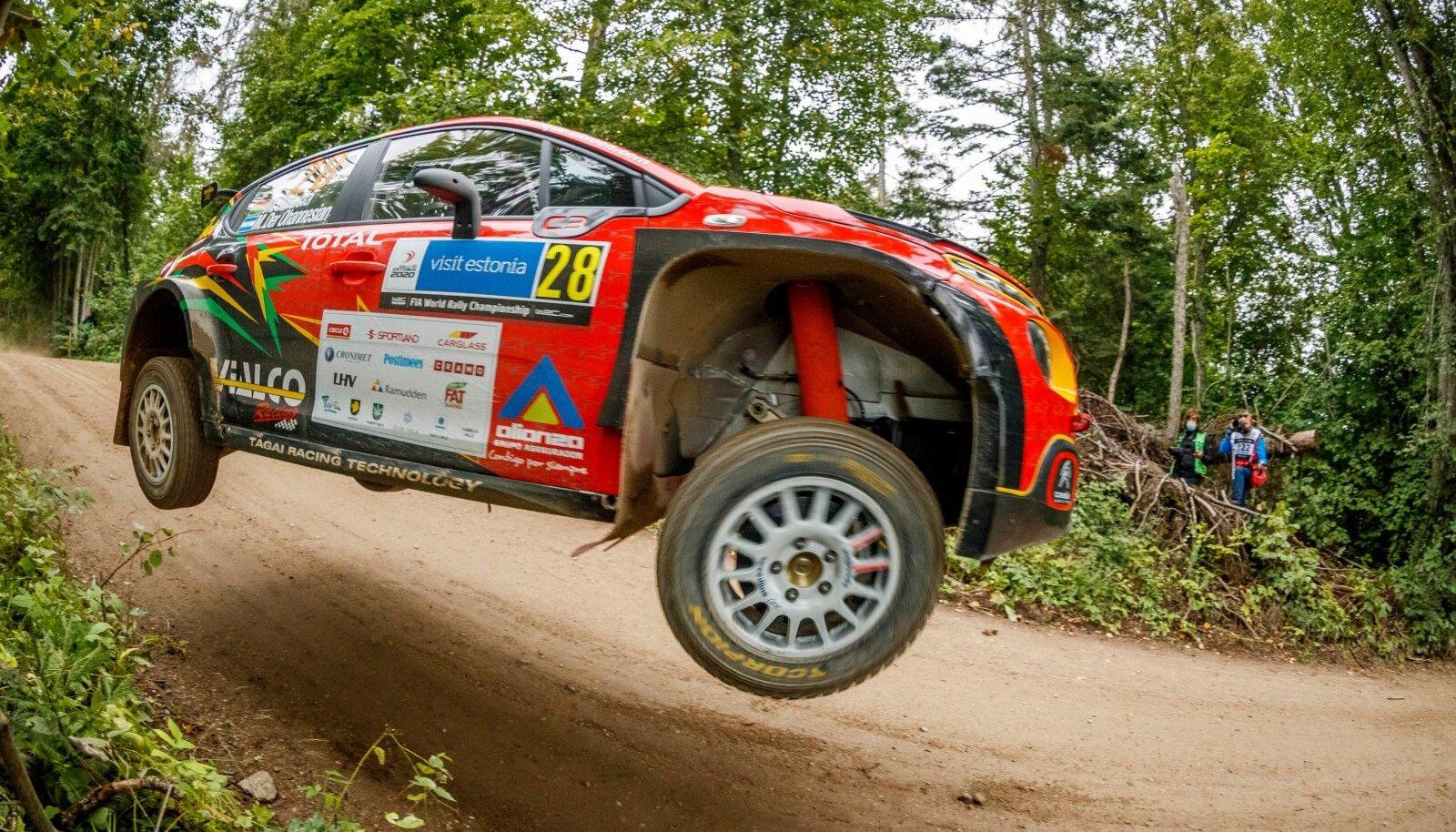 WRC RALLY ESTONIA 2020