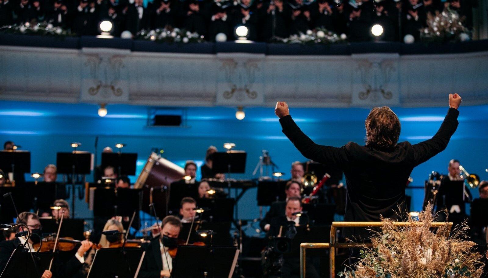 Eesti Kontserdi uusaastakontserti salvestis jõuab 1. jaanuari õhtul ETV eetrisse.