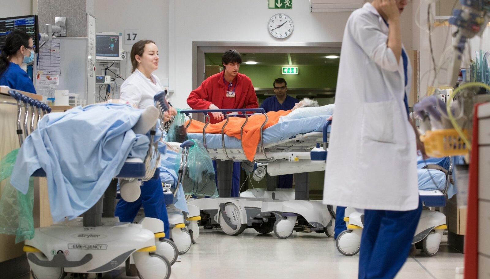 PERH-i haiglatöötajad. Erakorralise meditsiini osakond.