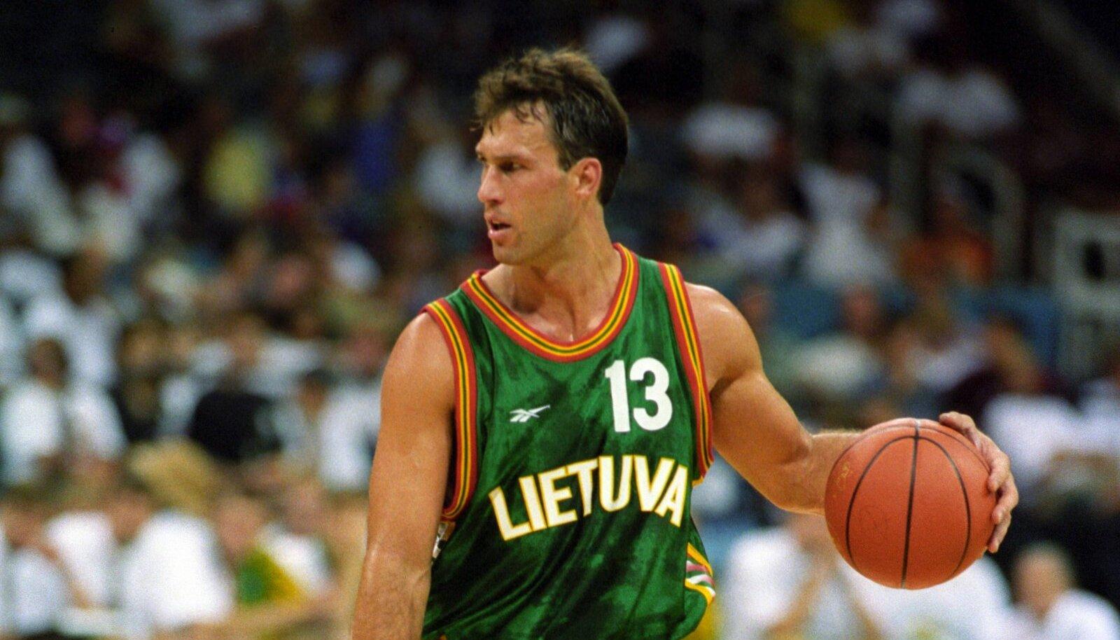 Šarunas Marčiulionis 1996. aasta Atlanta olümpial
