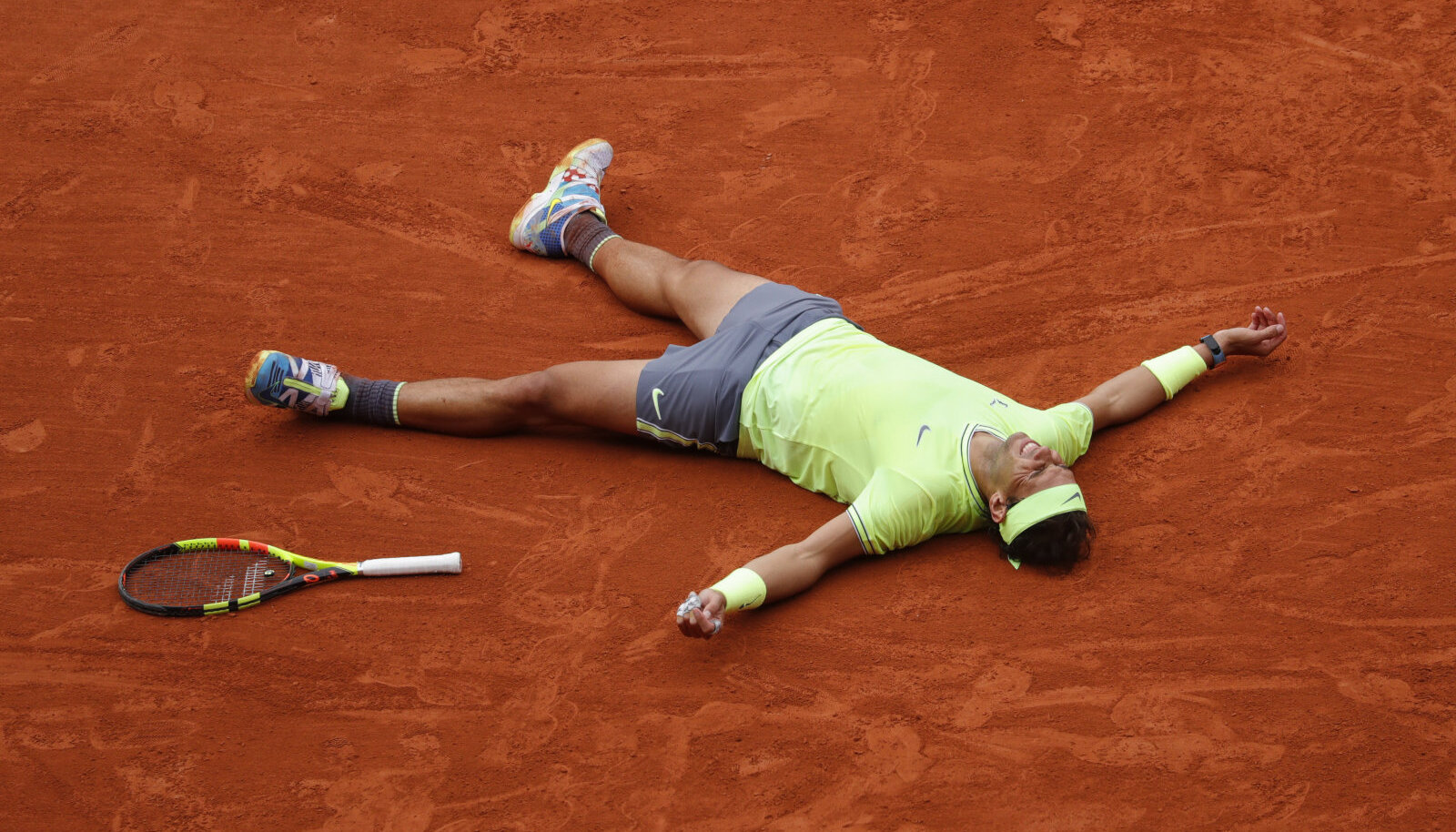 Roland Garrosi väljakud on olnud Rafael Nadali mängumaa.
