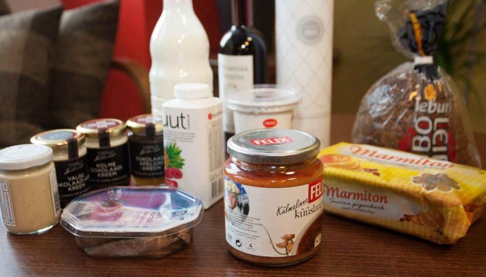 Eesti parimad toiduained 2012