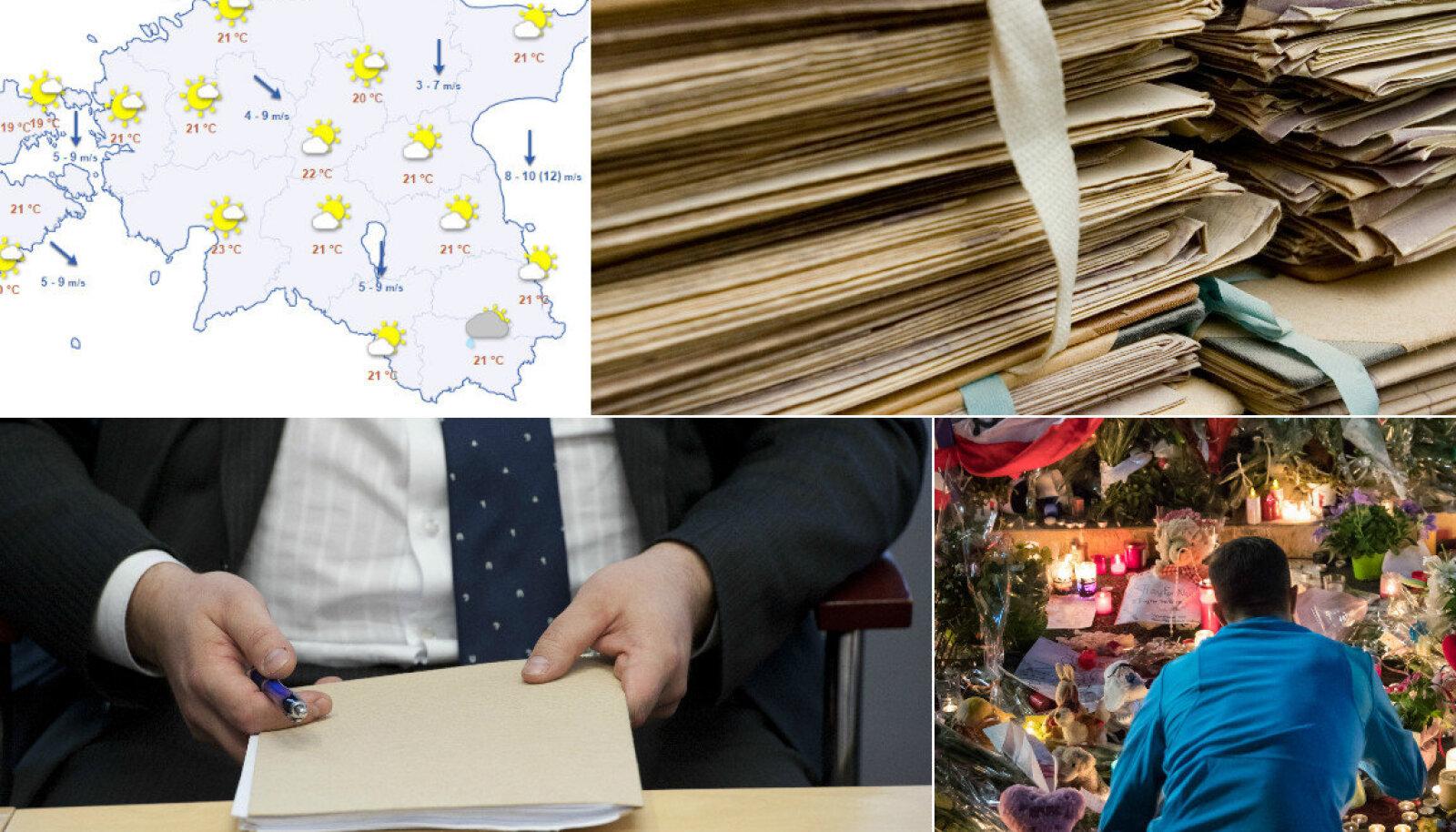 Eestisse värvatud tippspetsialistid on hädas paberimajandusega, ilm, Prantsusmaa eriolukorda pikendati 2017. aasta jaanuarini