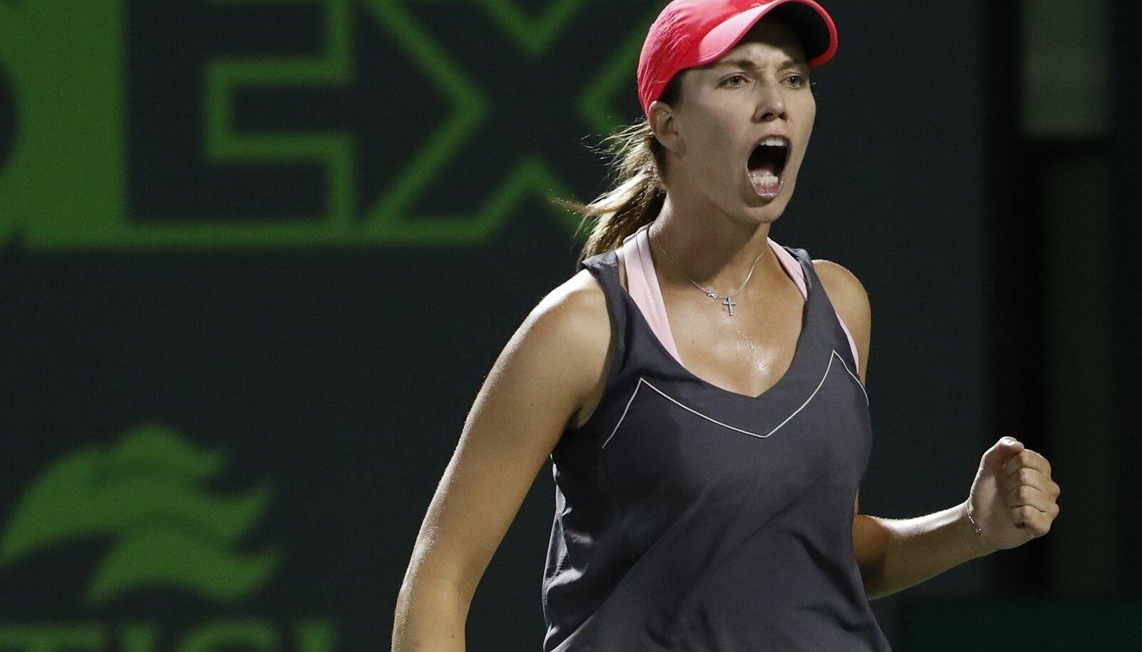 Danielle Collins mängis üllatuslikult üle Venus Williamsi.