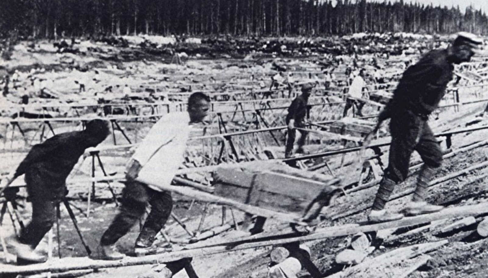 Balti-Valge mere kanal ehitati 12 - 25 000 poliitvangi hukkumise hinnaga.