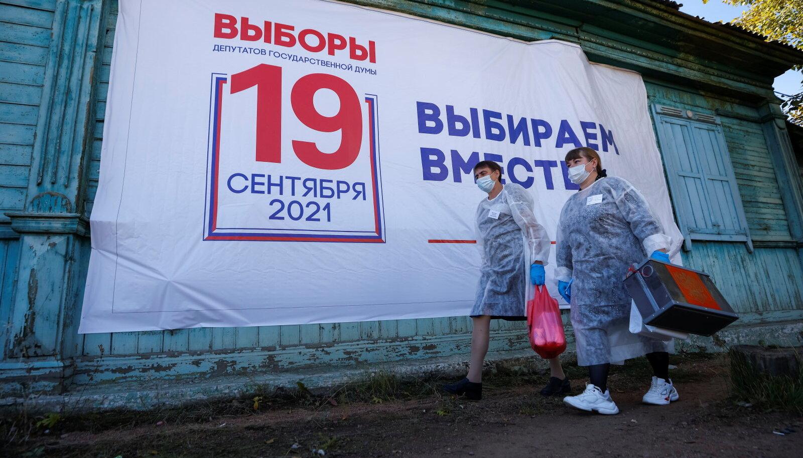 Vene valimised täna Burjaatias.