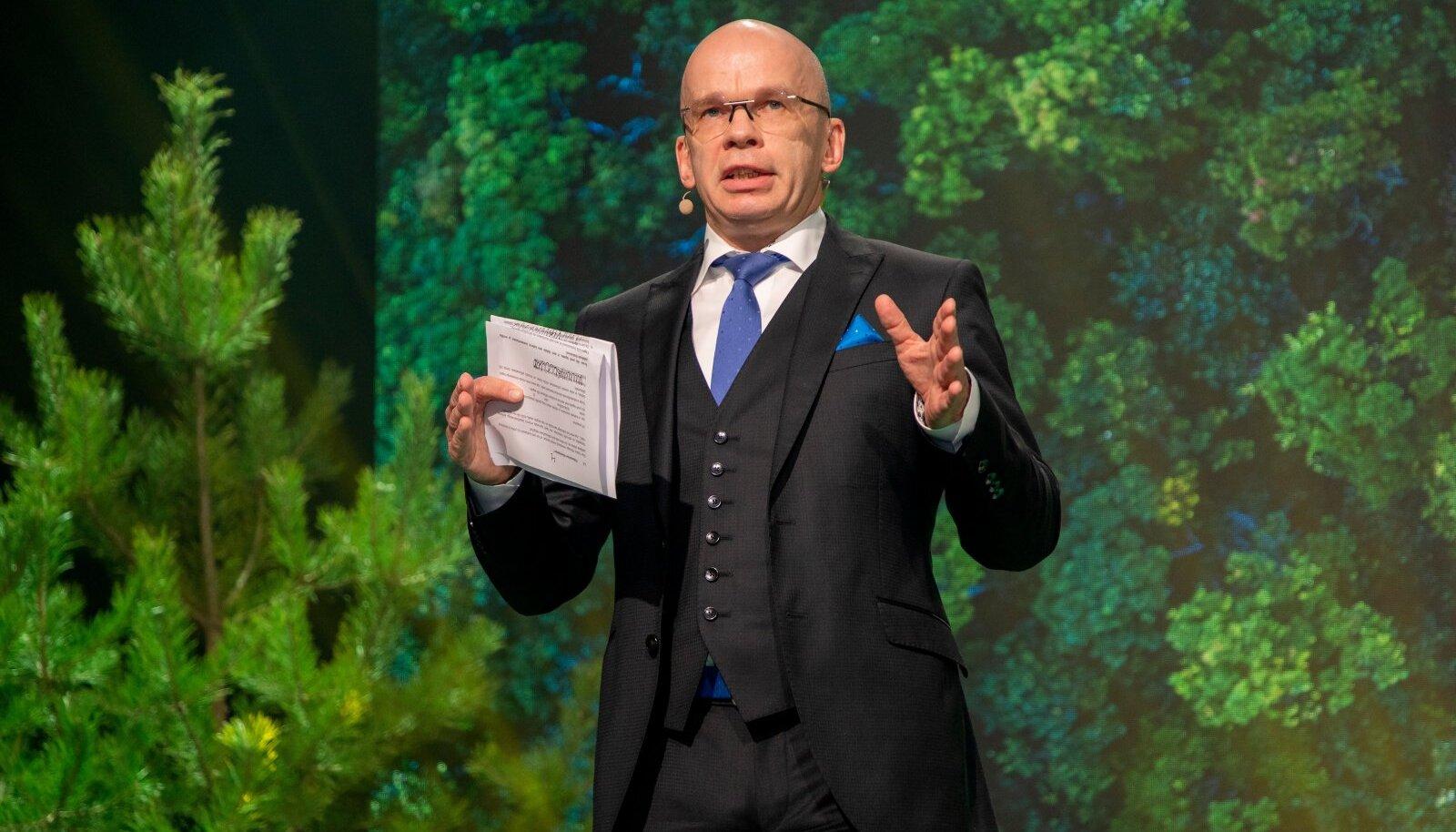 Konverents, Meie metsa tulevik, Allar Jõks
