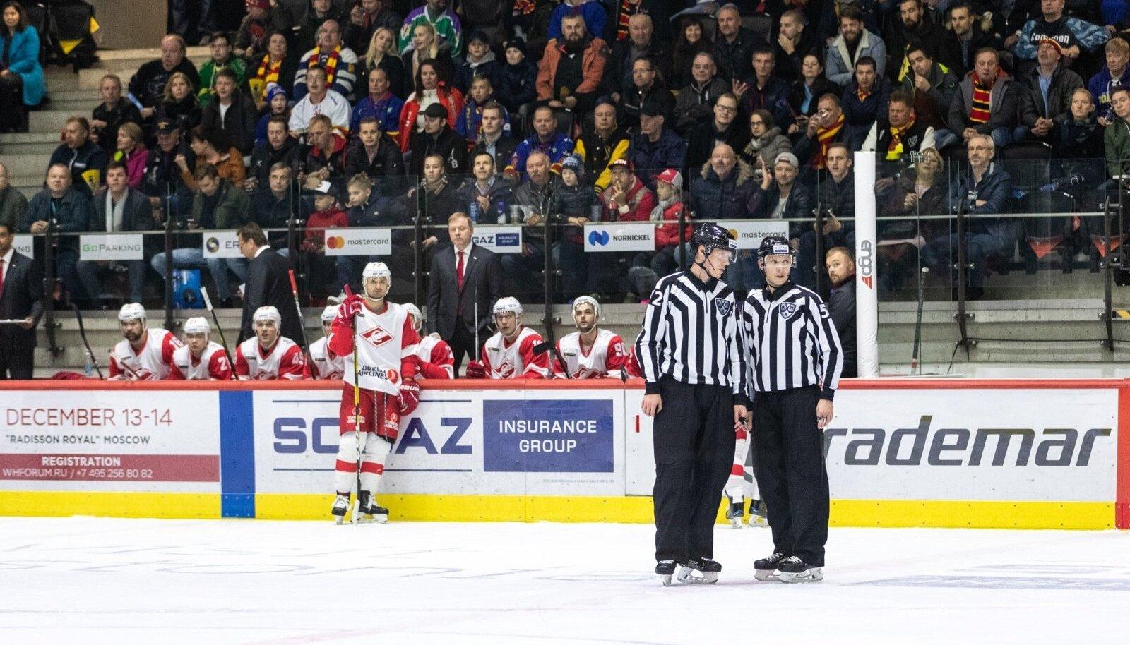 Helsingi Jokerit - Moskva Spartak