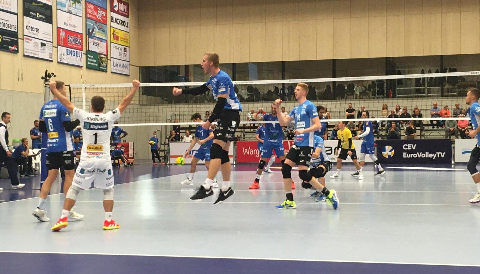 Tartu Bigbank vs Amriswili Lindaren.