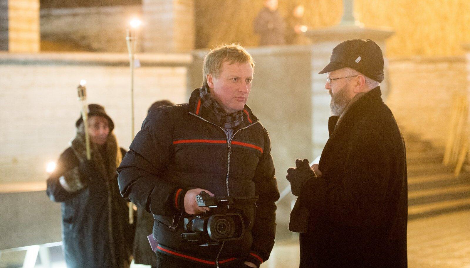Олег Беседин (слева)