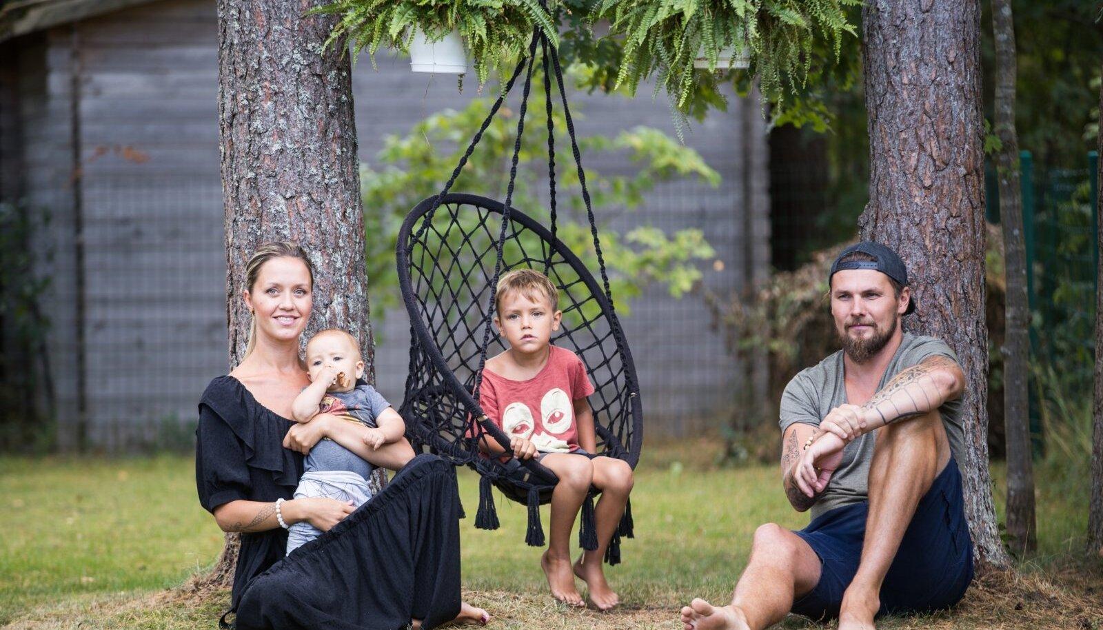 Jesper Parve ja tema pere